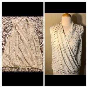 LOFT twist blouse